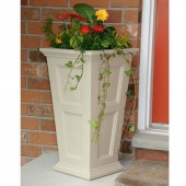 Mayne Fairfield Tall Planter   Clay