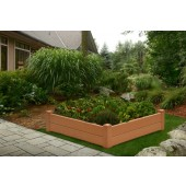 "48""W x 48""D x 24""H Chelsea Raised Garden Bed"