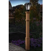 "72""H x 6""W Burton Composite Lamp Post"