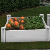 "48""W x 48""D x 22""H Sutton Raised Garden Bed"