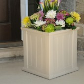 "16""W x 16""D x 18""H, Cape Cod Patio Planter"