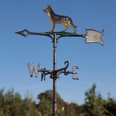 "Whitehall 30"" German Shepherd Color Weathervane"