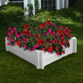 "38 1/4""W x 38 1/4""D x 9""H Huntington Raised Garden Bed"