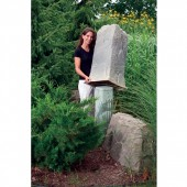 "18""L x 17""W x 34""H Artificial Rock Cover, Model 113"