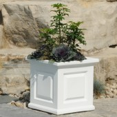 "16""W x 16""D x 16""H, Nantucket Square Patio Planter"