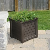 "20""W x 20""D x 20""H, Lakeland Square Patio Planter"