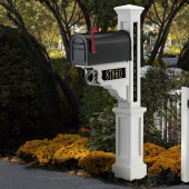 Mayne Dover Mailbox Package - White