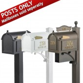Whitehall Mailbox Posts - Mailbox not included
