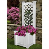 "23""W x 20""D x 64""H, Windsor Long Patio Planter Box"