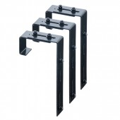 Adjustable Window Box Deck Rail Kit - 3 Pack