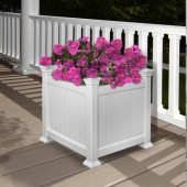 Cardiff Planter Box - White