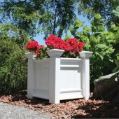 Windsor Planter Box - White