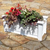 "42""W x 15-1/2""D x 18-1/2""H, Windsor Long Patio Planter Box"