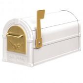 """7 1/2""""W x 9 1/2""""H x 20 1/2""""D, Eagle Rural Mailbox"""
